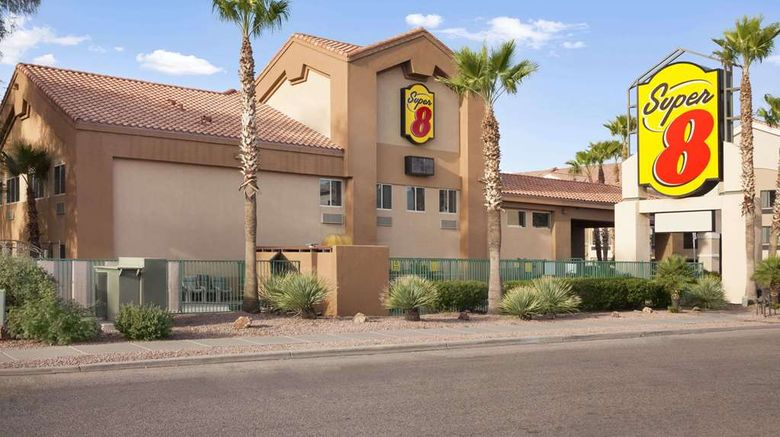 """Super 8 Marana/Tucson Area Exterior. Images powered by <a href=""""http://web.iceportal.com"""" target=""""_blank"""" rel=""""noopener"""">Ice Portal</a>."""