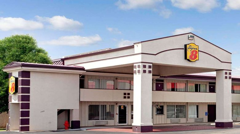 """Super 8 Oklahoma/Frontier City Exterior. Images powered by <a href=""""http://web.iceportal.com"""" target=""""_blank"""" rel=""""noopener"""">Ice Portal</a>."""