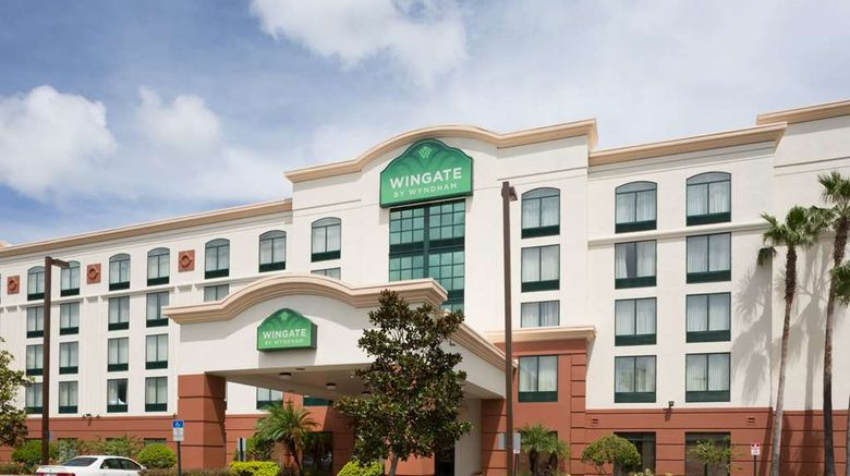 """Wingate by Wyndham Orlando Intl Airport Exterior. Images powered by <a href=""""http://web.iceportal.com"""" target=""""_blank"""" rel=""""noopener"""">Ice Portal</a>."""