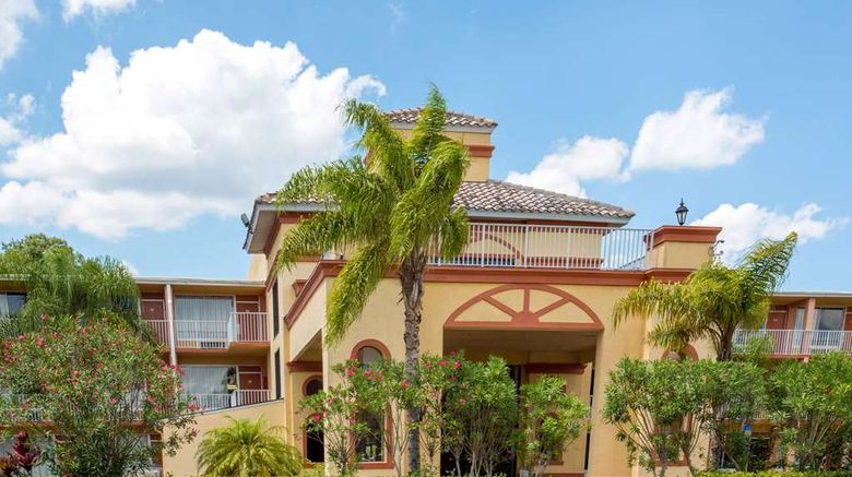 """Howard Johnson Inn Tropical Palms Exterior. Images powered by <a href=""""http://web.iceportal.com"""" target=""""_blank"""" rel=""""noopener"""">Ice Portal</a>."""