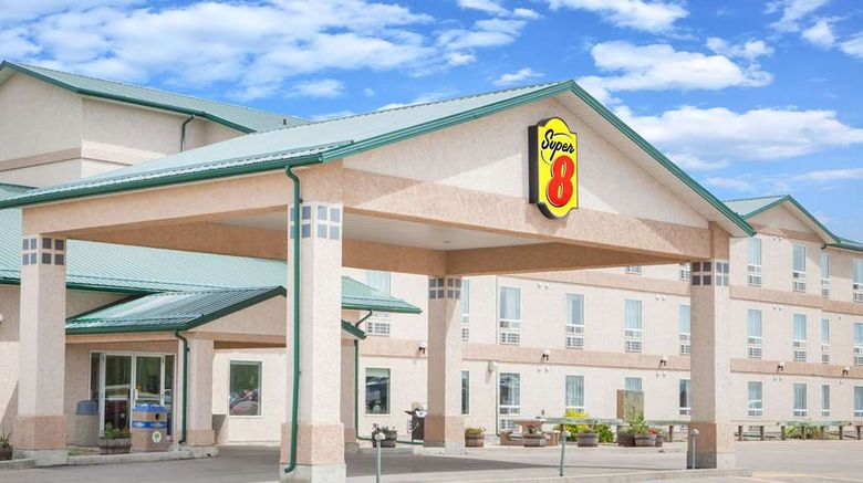 """<b>Super 8 Swan River MB Exterior</b>. Images powered by <a href=""""https://iceportal.shijigroup.com/"""" title=""""IcePortal"""" target=""""_blank"""">IcePortal</a>."""