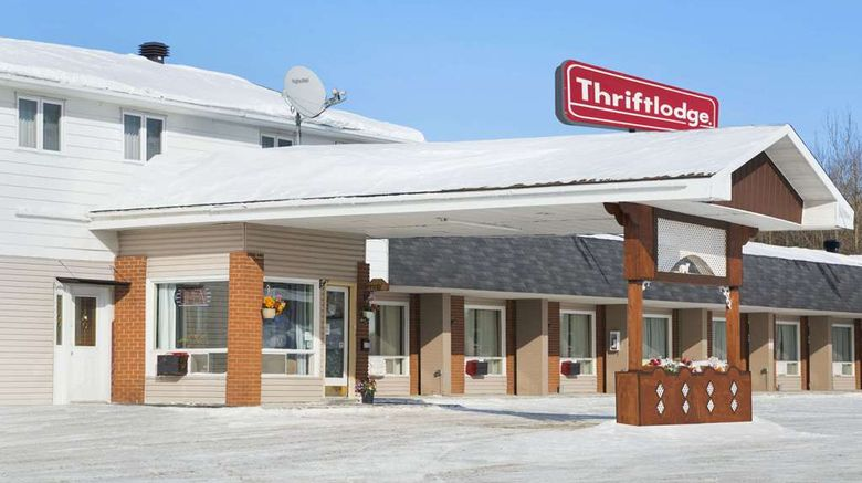 """Thriftlodge Cochrane South Exterior. Images powered by <a href=""""http://web.iceportal.com"""" target=""""_blank"""" rel=""""noopener"""">Ice Portal</a>."""