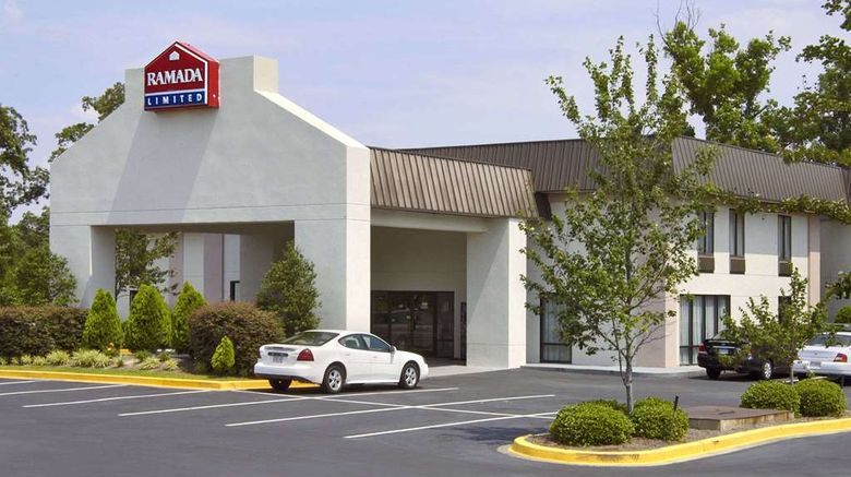 """Ramada Limited Columbia Exterior. Images powered by <a href=""""http://web.iceportal.com"""" target=""""_blank"""" rel=""""noopener"""">Ice Portal</a>."""