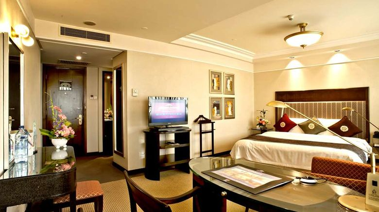 """<b>Howard Johnson Ginwa Plaza Hotel Xi'an Room</b>. Images powered by <a href=""""https://iceportal.shijigroup.com/"""" title=""""IcePortal"""" target=""""_blank"""">IcePortal</a>."""