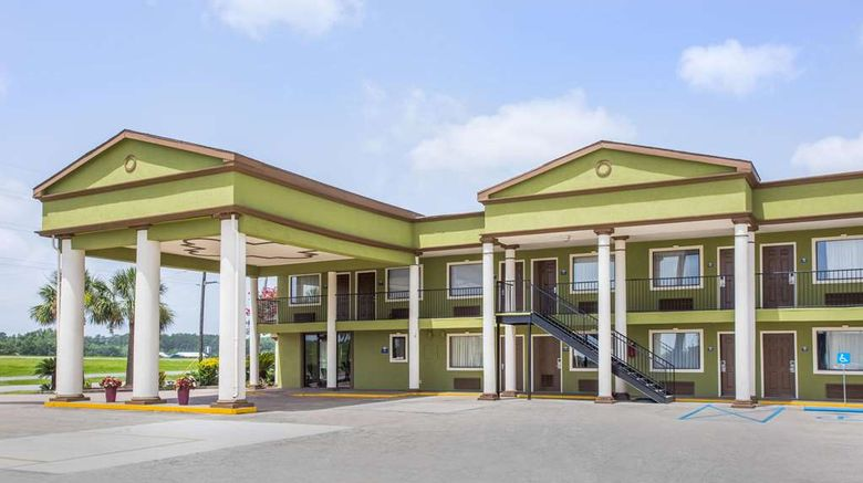 """Days Inn Crowley Exterior. Images powered by <a href=""""http://web.iceportal.com"""" target=""""_blank"""" rel=""""noopener"""">Ice Portal</a>."""