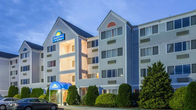 """Days Inn  and  Suites Groton Exterior. Images powered by <a href=""""http://web.iceportal.com"""" target=""""_blank"""" rel=""""noopener"""">Ice Portal</a>."""