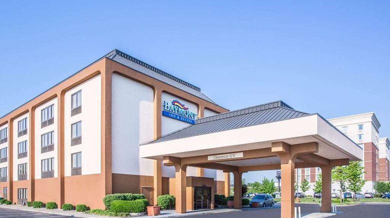 """Baymont Inn and Suites Cincinnati Exterior. Images powered by <a href=""""http://web.iceportal.com"""" target=""""_blank"""" rel=""""noopener"""">Ice Portal</a>."""