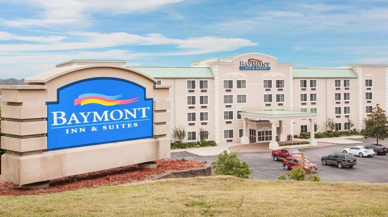 """Baymont Inn  and  Suites Hot Springs Exterior. Images powered by <a href=""""http://web.iceportal.com"""" target=""""_blank"""" rel=""""noopener"""">Ice Portal</a>."""