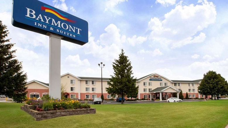 """Baymont Inn  and  Suites Mackinaw City Exterior. Images powered by <a href=""""http://web.iceportal.com"""" target=""""_blank"""" rel=""""noopener"""">Ice Portal</a>."""