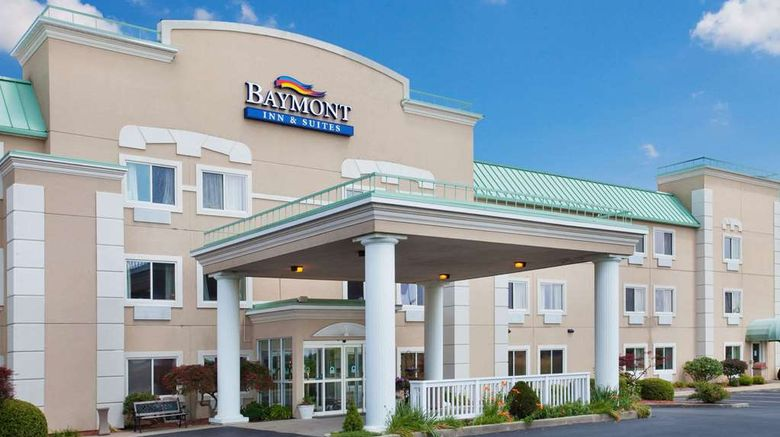 """Baymont Inn  and  Suites Dale Exterior. Images powered by <a href=""""http://web.iceportal.com"""" target=""""_blank"""" rel=""""noopener"""">Ice Portal</a>."""