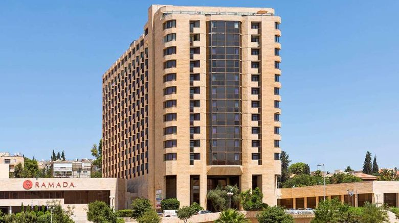 """Ramada Jerusalem Exterior. Images powered by <a href=""""http://web.iceportal.com"""" target=""""_blank"""" rel=""""noopener"""">Ice Portal</a>."""