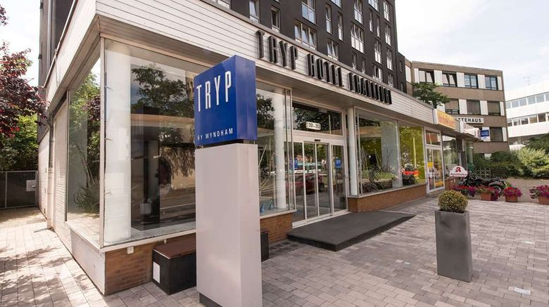 """Tryp by Wyndham Frankfurt Exterior. Images powered by <a href=""""http://web.iceportal.com"""" target=""""_blank"""" rel=""""noopener"""">Ice Portal</a>."""