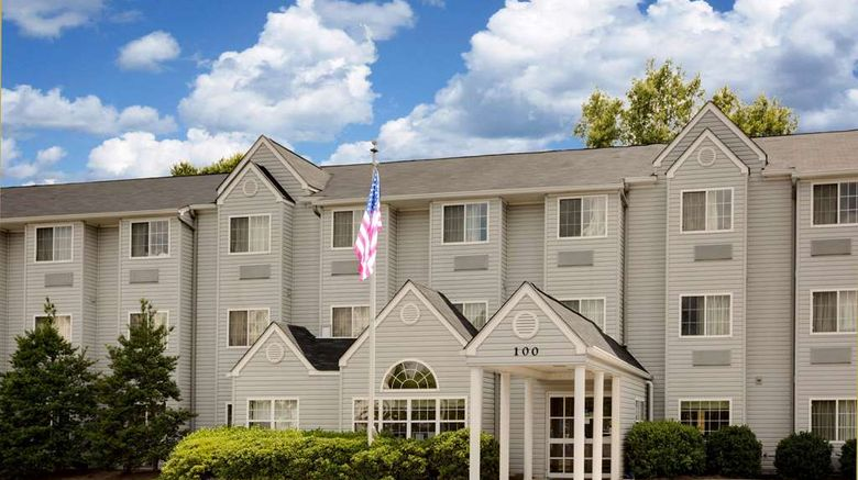 """Microtel Inn Exterior. Images powered by <a href=""""http://web.iceportal.com"""" target=""""_blank"""" rel=""""noopener"""">Ice Portal</a>."""