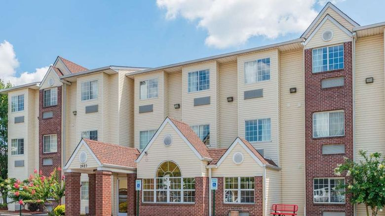 """Microtel Inn  and  Suites Cordova/Memphis Exterior. Images powered by <a href=""""http://web.iceportal.com"""" target=""""_blank"""" rel=""""noopener"""">Ice Portal</a>."""