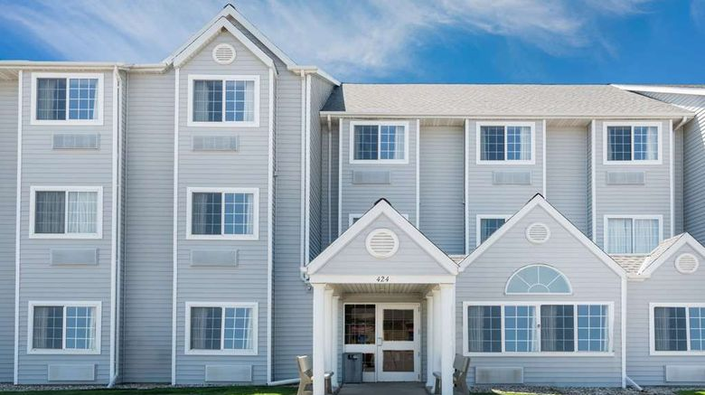 """Microtel Inn  and  Suites by Wyndham New Ulm Exterior. Images powered by <a href=""""http://web.iceportal.com"""" target=""""_blank"""" rel=""""noopener"""">Ice Portal</a>."""