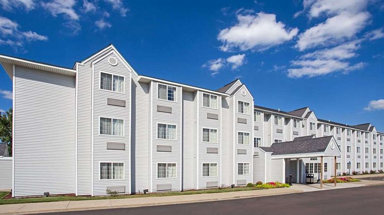 """Microtel Inn  and  Suites by Wyndham Holland Exterior. Images powered by <a href=""""http://web.iceportal.com"""" target=""""_blank"""" rel=""""noopener"""">Ice Portal</a>."""