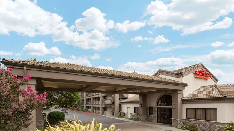 """Hawthorn Suites by Wyndham Napa Valley Exterior. Images powered by <a href=""""http://web.iceportal.com"""" target=""""_blank"""" rel=""""noopener"""">Ice Portal</a>."""