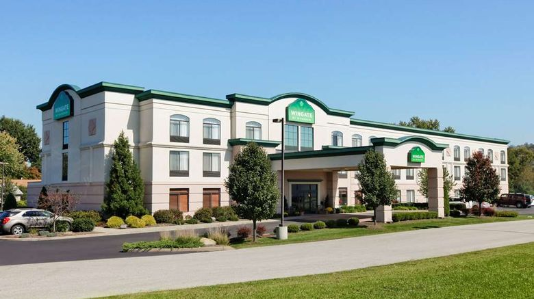 """Wingate by Wyndham Vienna Parkersburg Exterior. Images powered by <a href=""""http://web.iceportal.com"""" target=""""_blank"""" rel=""""noopener"""">Ice Portal</a>."""