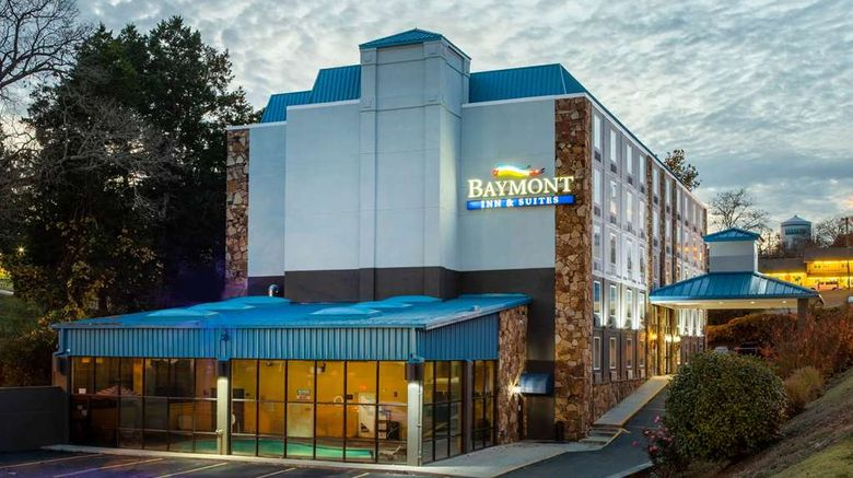 """Baymont Inn  and  Suites Branson Exterior. Images powered by <a href=""""http://web.iceportal.com"""" target=""""_blank"""" rel=""""noopener"""">Ice Portal</a>."""