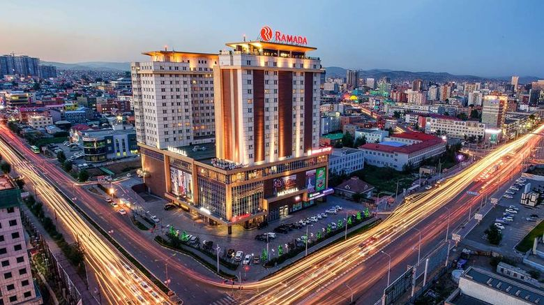 """Ramada Ulaanbaatar Citycenter Exterior. Images powered by <a href=""""http://web.iceportal.com"""" target=""""_blank"""" rel=""""noopener"""">Ice Portal</a>."""