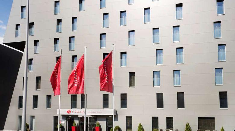 "Ramada Innsbruck Tivoli Exterior. Images powered by <a href=""http://web.iceportal.com"" target=""_blank"" rel=""noopener"">Ice Portal</a>."