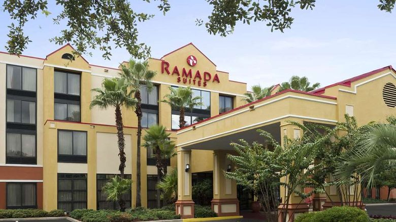 """Ramada Suites Orlando Airport Exterior. Images powered by <a href=""""http://web.iceportal.com"""" target=""""_blank"""" rel=""""noopener"""">Ice Portal</a>."""