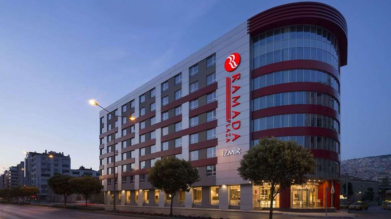 """Ramada Plaza By Wyndham Izmir Exterior. Images powered by <a href=""""http://web.iceportal.com"""" target=""""_blank"""" rel=""""noopener"""">Ice Portal</a>."""