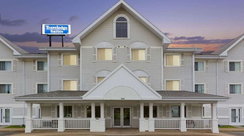 """Travelodge Suites Saint John Exterior. Images powered by <a href=""""http://web.iceportal.com"""" target=""""_blank"""" rel=""""noopener"""">Ice Portal</a>."""
