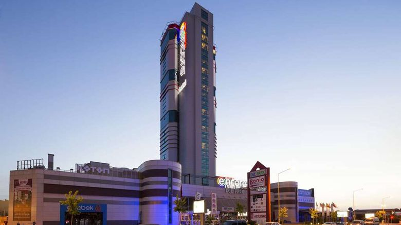 """Ramada Encore By Wyndham Izmir Exterior. Images powered by <a href=""""http://web.iceportal.com"""" target=""""_blank"""" rel=""""noopener"""">Ice Portal</a>."""
