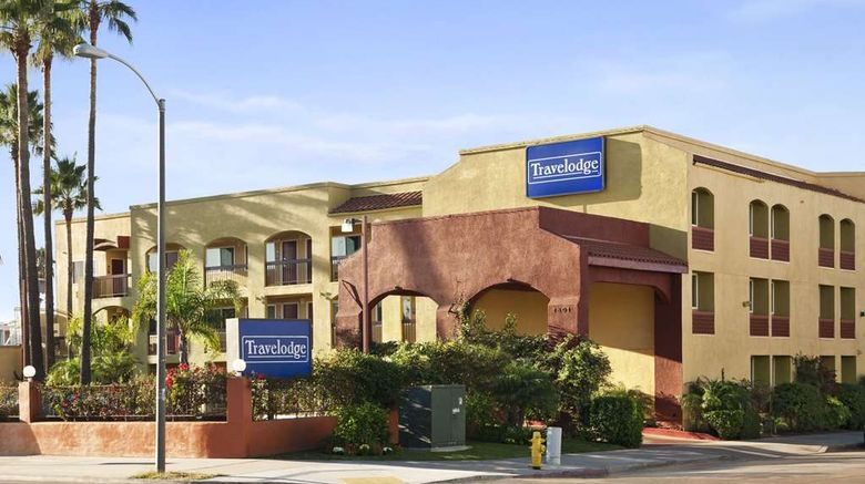 """Travelodge San Diego Downtown Exterior. Images powered by <a href=""""http://web.iceportal.com"""" target=""""_blank"""" rel=""""noopener"""">Ice Portal</a>."""