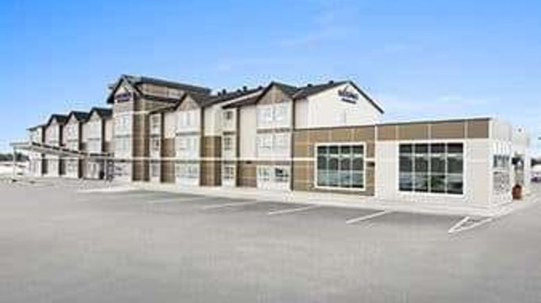 """Microtel Inn  and  Suites Timmins Exterior. Images powered by <a href=""""http://web.iceportal.com"""" target=""""_blank"""" rel=""""noopener"""">Ice Portal</a>."""