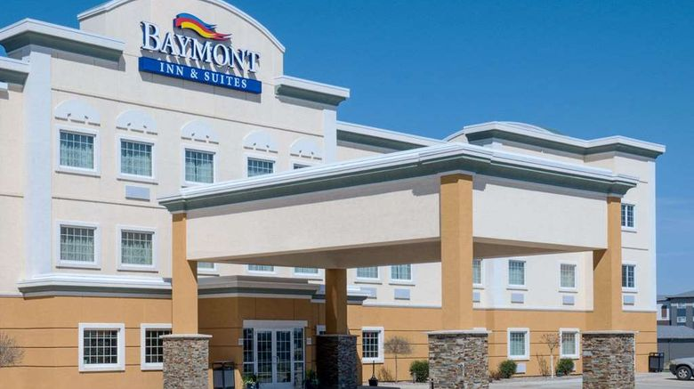 """Baymont Inn  and  Suites Minot Exterior. Images powered by <a href=""""http://web.iceportal.com"""" target=""""_blank"""" rel=""""noopener"""">Ice Portal</a>."""