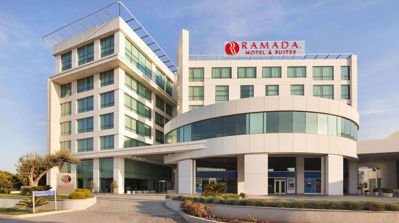 """Ramada Hotel and Suites Kemalpasa Izmir Exterior. Images powered by <a href=""""http://web.iceportal.com"""" target=""""_blank"""" rel=""""noopener"""">Ice Portal</a>."""