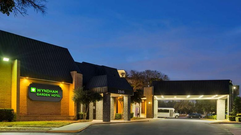 """Wyndham Garden Dallas North Exterior. Images powered by <a href=""""http://web.iceportal.com"""" target=""""_blank"""" rel=""""noopener"""">Ice Portal</a>."""