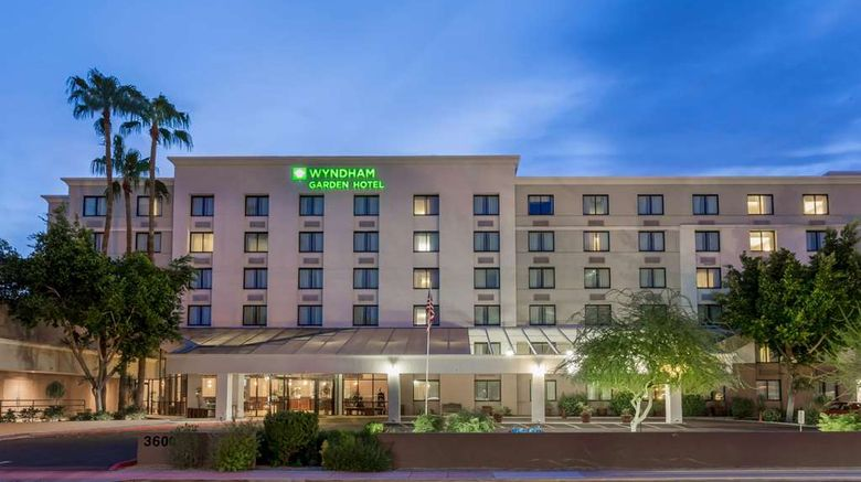 """Wyndham Garden Phoenix Midtown Exterior. Images powered by <a href=""""http://web.iceportal.com"""" target=""""_blank"""" rel=""""noopener"""">Ice Portal</a>."""