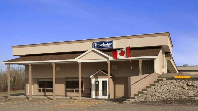 """Travelodge Kapuskasing Exterior. Images powered by <a href=""""http://web.iceportal.com"""" target=""""_blank"""" rel=""""noopener"""">Ice Portal</a>."""