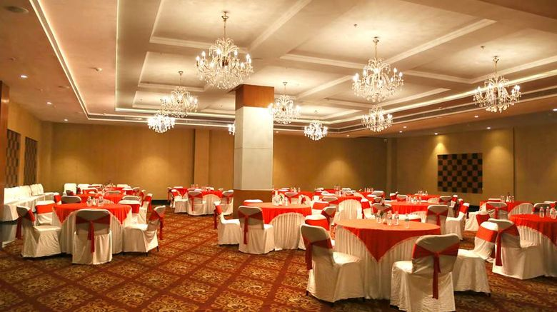 """<b>Ramada Jamshedpur Ballroom</b>. Images powered by <a href=""""https://iceportal.shijigroup.com/"""" title=""""IcePortal"""" target=""""_blank"""">IcePortal</a>."""