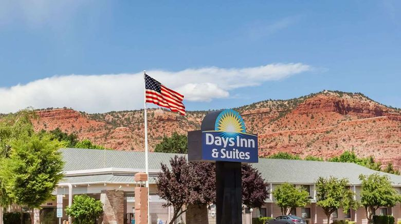 """Days Inn  and  Suites Kanab Exterior. Images powered by <a href=""""http://web.iceportal.com"""" target=""""_blank"""" rel=""""noopener"""">Ice Portal</a>."""