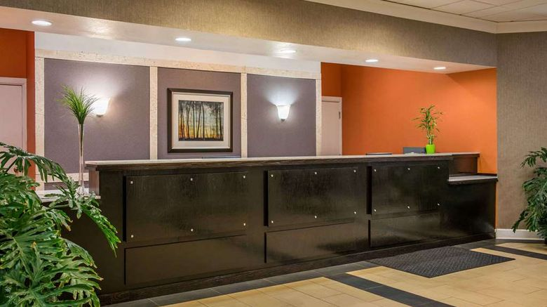 """Super 8 Little Rock Otter Creek Lobby. Images powered by <a href=""""http://web.iceportal.com"""" target=""""_blank"""" rel=""""noopener"""">Ice Portal</a>."""