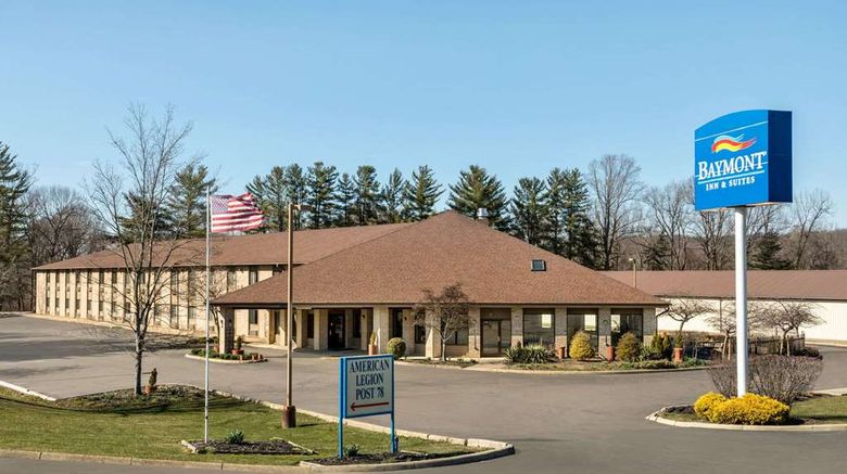 """Baymont Inn  and  Suites Logan Exterior. Images powered by <a href=""""http://web.iceportal.com"""" target=""""_blank"""" rel=""""noopener"""">Ice Portal</a>."""