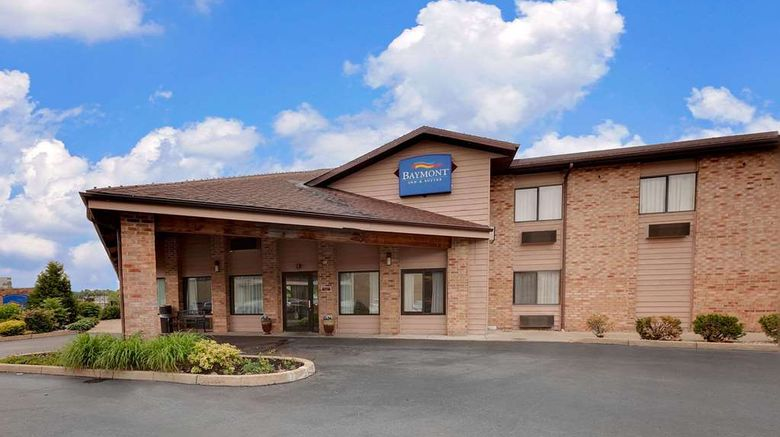 """Baymont Inn  and  Suites Battle Creek Dtwn Exterior. Images powered by <a href=""""http://web.iceportal.com"""" target=""""_blank"""" rel=""""noopener"""">Ice Portal</a>."""