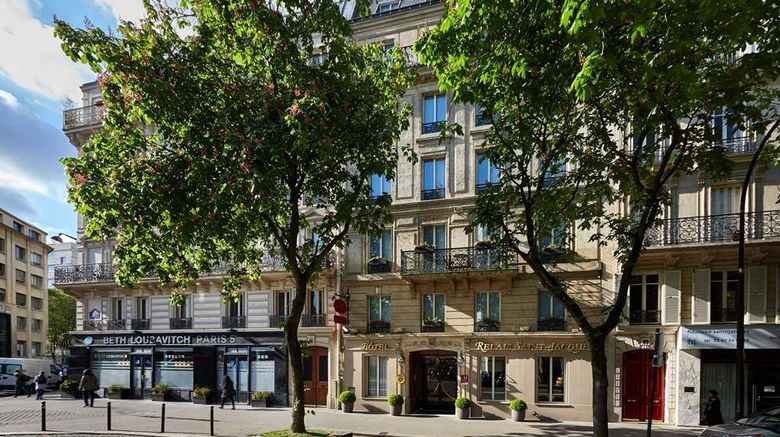 """Le Relais St Jacques Hotel Exterior. Images powered by <a href=""""http://web.iceportal.com"""" target=""""_blank"""" rel=""""noopener"""">Ice Portal</a>."""