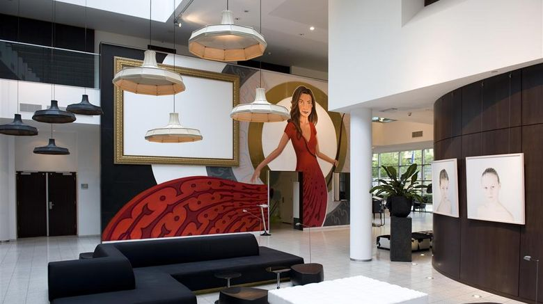 """Dutch Design Hotel Artemis Lobby. Images powered by <a href=""""http://web.iceportal.com"""" target=""""_blank"""" rel=""""noopener"""">Ice Portal</a>."""