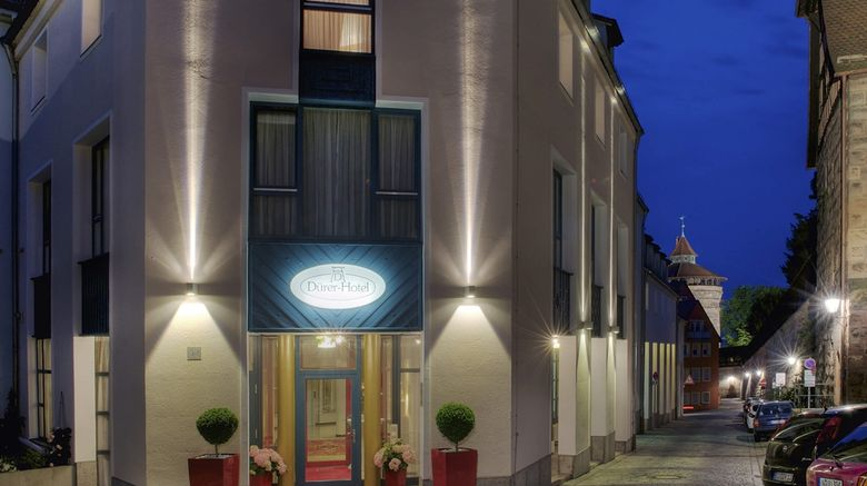 """TOP Duerer Hotel Exterior. Images powered by <a href=""""http://web.iceportal.com"""" target=""""_blank"""" rel=""""noopener"""">Ice Portal</a>."""
