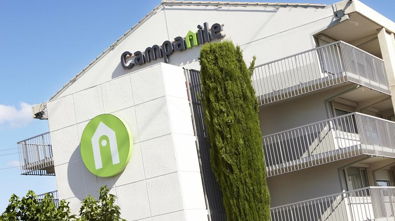 """Hotel Campanile EST - Le Millenaire Exterior. Images powered by <a href=""""http://web.iceportal.com"""" target=""""_blank"""" rel=""""noopener"""">Ice Portal</a>."""