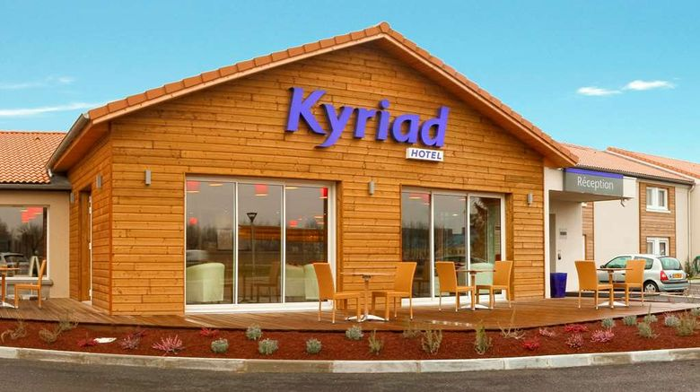 """Kyriad Lyon Bourgoin Jallieu Exterior. Images powered by <a href=""""http://web.iceportal.com"""" target=""""_blank"""" rel=""""noopener"""">Ice Portal</a>."""