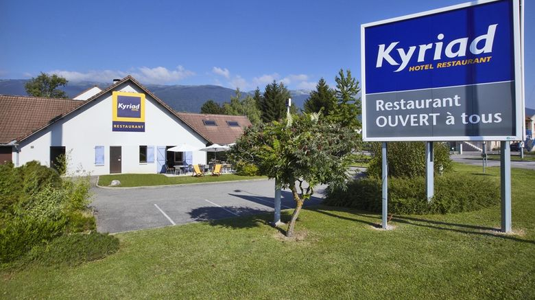 """Kyriad Hotel Exterior. Images powered by <a href=""""http://web.iceportal.com"""" target=""""_blank"""" rel=""""noopener"""">Ice Portal</a>."""