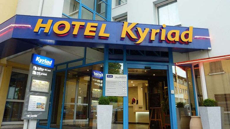 """Kyriad Montbeliard - Sochaux Exterior. Images powered by <a href=""""http://web.iceportal.com"""" target=""""_blank"""" rel=""""noopener"""">Ice Portal</a>."""
