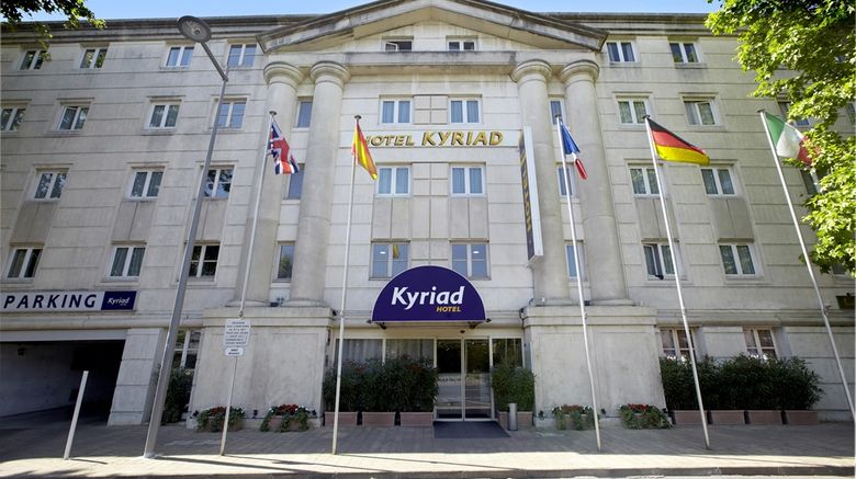 """Kyriad Montpellier Centre-Antigone Exterior. Images powered by <a href=""""http://web.iceportal.com"""" target=""""_blank"""" rel=""""noopener"""">Ice Portal</a>."""
