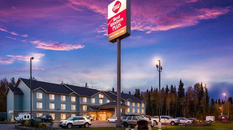 """Best Western Plus Chena River Lodge Exterior. Images powered by <a href=""""http://web.iceportal.com"""" target=""""_blank"""" rel=""""noopener"""">Ice Portal</a>."""